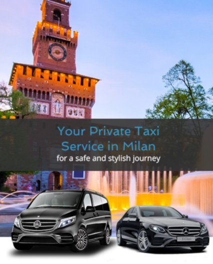 Private taxi Milan